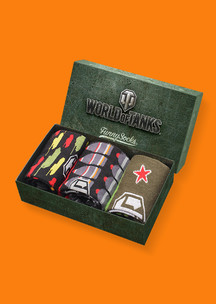 Funny Socks: Набор Закаленная сталь (World of Tanks)